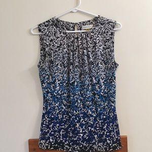 Calvin Klein Sz XS sleeveless dress shirt